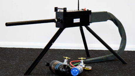 Remote Heavy Weapon Machine Gun Simulator
